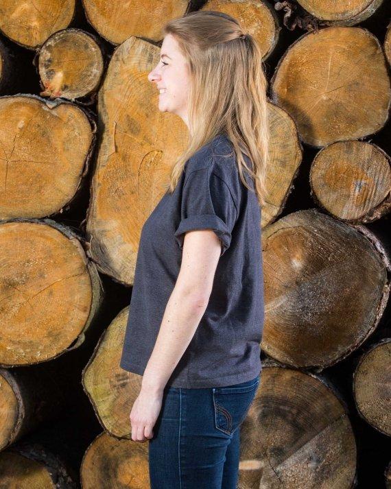 Fair Wear Foundation Upcycling Mode Nachhaltig Hanf Bio Baumwolle Umwelt Klimawandel T-Shirt Vegan 1% for the Planet