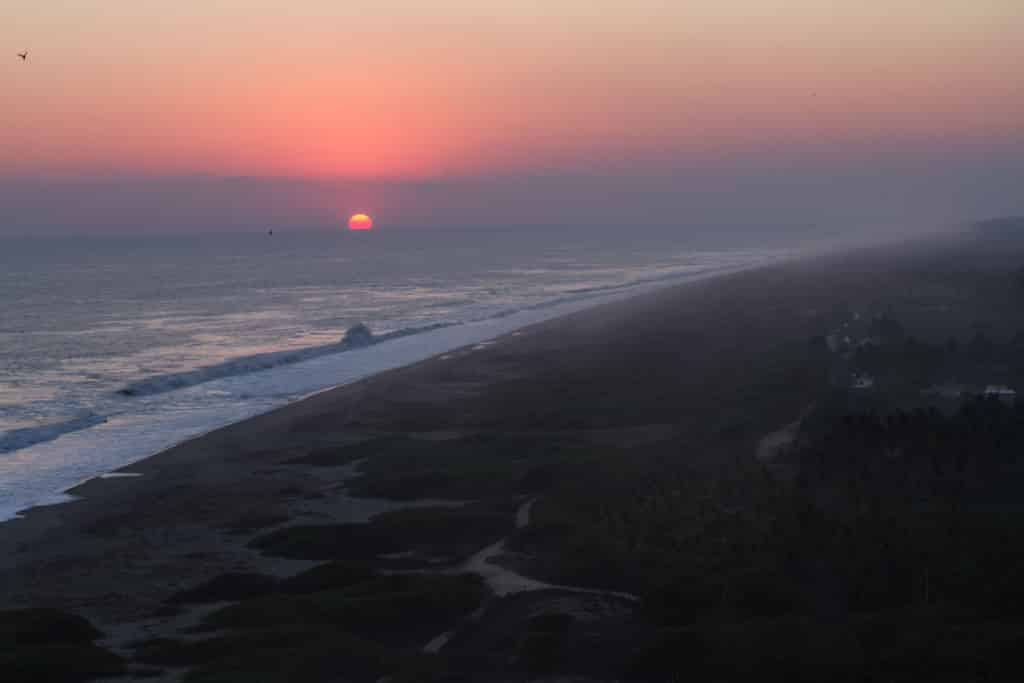 Mexico Mexiko One Percent For The Planet Chacahua Surf Sunrise Sonnenaufgang